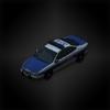 Patrol car diorama