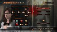 Revelations 2 Raid Mode - Gina menu 2