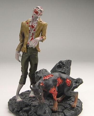 File:Biohazard Figure Collection - Zombie & Cerberus.jpeg
