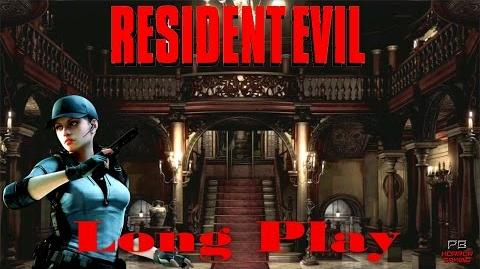 Resident Evil HD REmaster Full Playthrough Jill Valentine Longplay Walkthrough No Commentary