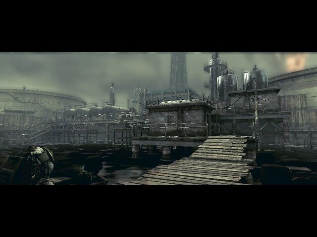 File:Oil field dock in RE5 (Danskyl7) (9).jpg