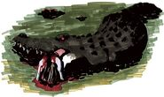 Alligator - BIOHAZARD 1.5 concept art