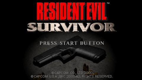 PSX Longplay 090 Resident Evil Survivor