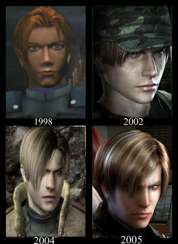 File:Leon Kennedy Evolution D by AmeliaKader.jpg