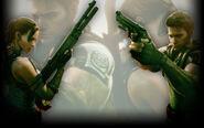 Resident Evil 5 Biohazard 5 Background Guns Out