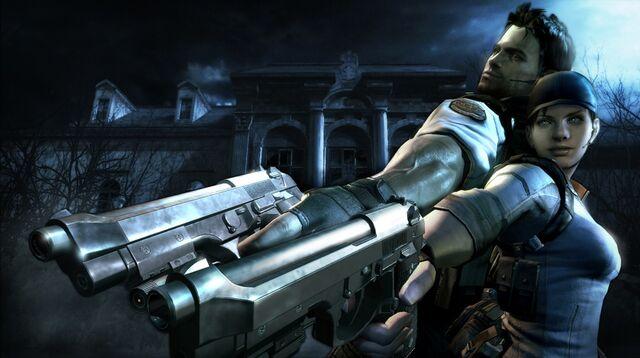 File:Resident Evil 5 Gold Edition - Jill and Chris wallpaper 2.jpg