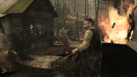 Resident Evil 4 all cutscenes - Chapter 1-1 Scene 4
