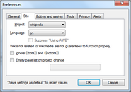 AutoWikiBrowser tutorial - part 2b