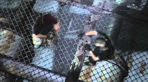 Resident Evil 4 all cutscenes - Chapter 5-3 scene 2