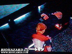 File:BIOHAZARD 1.5 Bioflames screenshot - Elza Walker and Brian Irons.jpg
