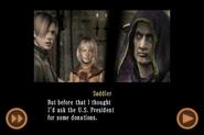 RE4 mobile edition - Rescue Ashley cutscene 5 part 11