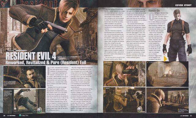 File:Resident Evil 4 - Game Informer March 2004, Issue 131 - p30-31.jpg