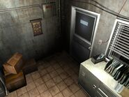 Resident Evil 3 background - Uptown - warehouse office a - R10000