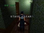 BIO HAZARD Sega Saturn - Battle Game Stage Clear