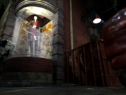 Resident Evil 3 background - Uptown - street along apartment building h - R10D04