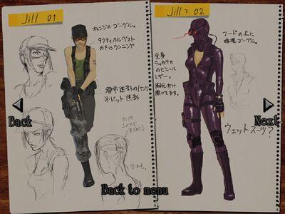 Jill Costume Concepts 1