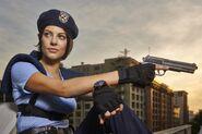 Julia Voth as Jill Valentine 2