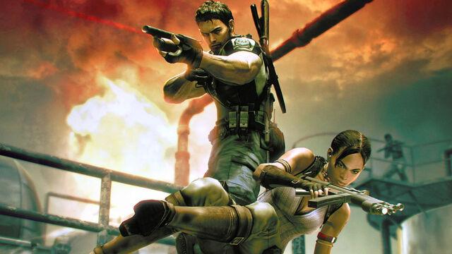 File:Resident Evil 5 - Sheva and Chris wallpaper 3.jpg