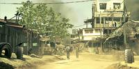 Kontrollpunkt für Zivilisten