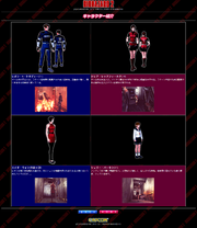 BIOHAZARD 2 Official PlayStation website - character page