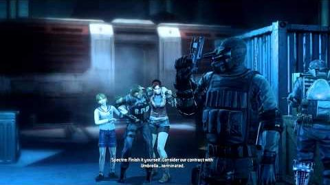 Resident Evil Operation Raccoon City all cutscenes - Against Umbrella (Spectre) Ending