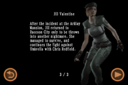 Mobile Edition file - Jill Valentine - page 3