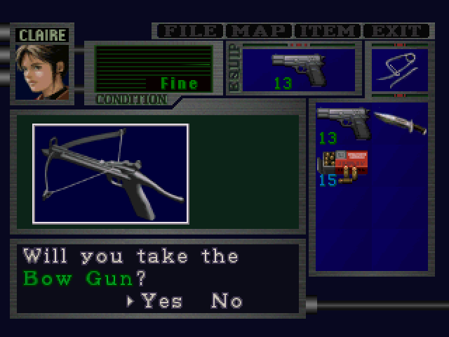 File:RE2 Bow Gun pickup 01.png