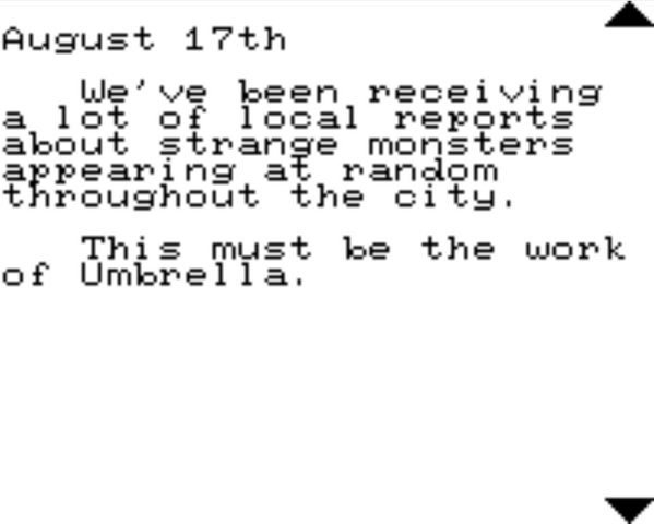 File:Resident Evil 2 Game.com file - CHRIS'S DIARY - page 3.png