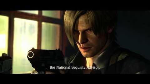 Resident Evil 6 all cutscenes - Leon vs