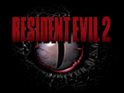 Resident Evil 2 proto - International Title Screen