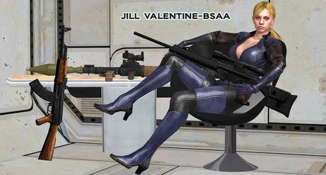 Jill Packing Heat