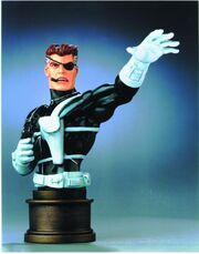 Nick fury agent shield bust