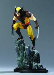 Wolverine brown stat @ mini
