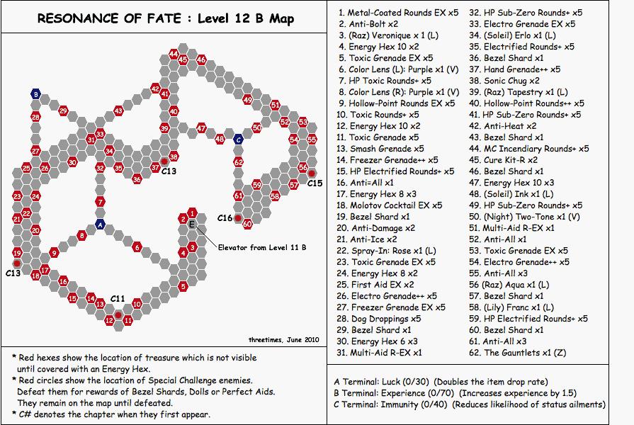 Level 12B - Map