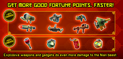 Fortune Weapons