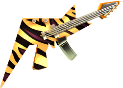 Golden Zebra Skin