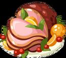 Festive Glazed Ham