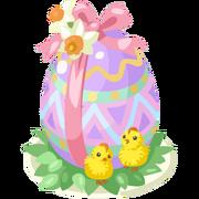 Cute Chocolate Egg