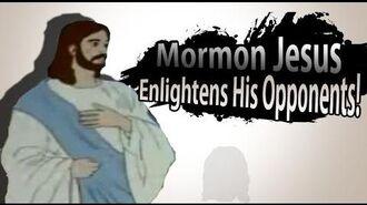 Smash Bros Lawl MAD Character Moveset Mormon Jesus