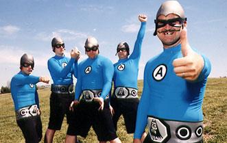 The Aquabats random band pic 3