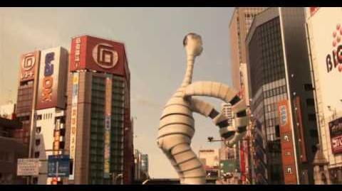 Big Man Japan Fight 1