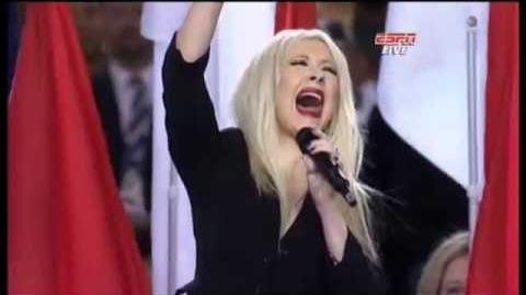 Christina Aguilera Screws Up the U