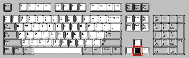 Keyboarddown