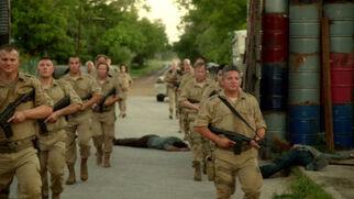 Patriot soldiers