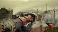 Patriot's steam train