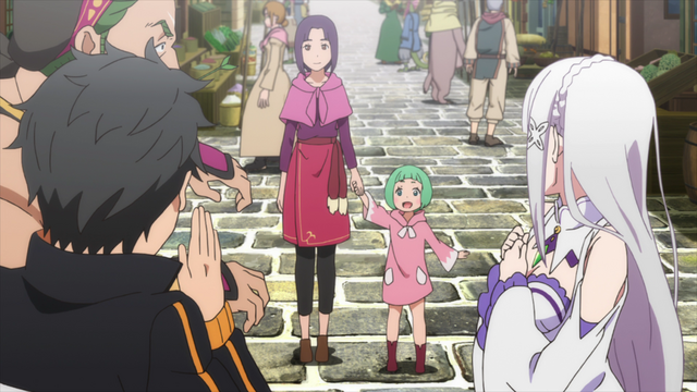 File:Kadomon's Wife and Daughter - Re Zero Anime BD.png