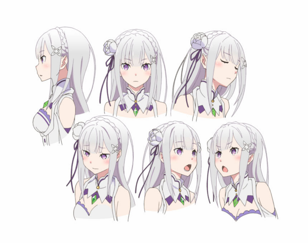 File:Emilia Character Art Face Angles.png