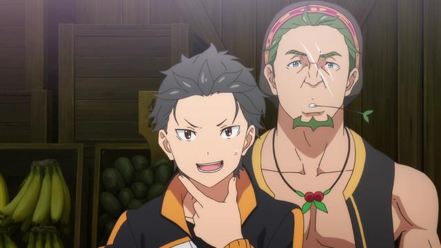 File:Subaru and Kadomon - Re Zero Anime BD - 1.png