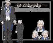 Wilhelm Anime Character Art