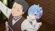 Subaru and Rem - Re Zero Anime BD - 1